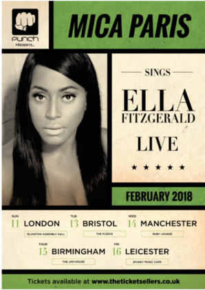 MICA SINGS ELLA – FEB TOUR